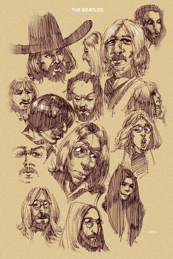 beatles_sketches_by_erosell-aug-22-2009