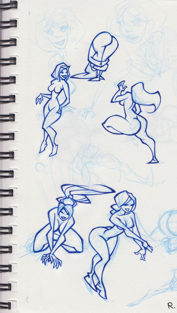 girlie_sketches_by_erosell-sept-11-2009